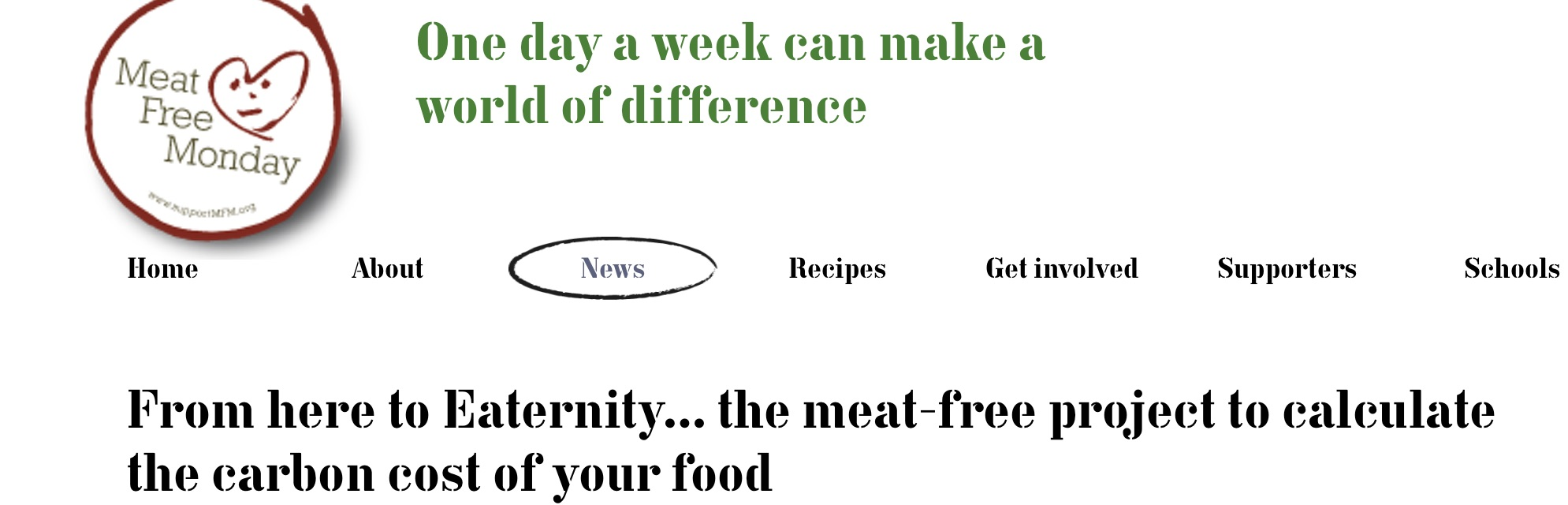 Meat Free Monday image